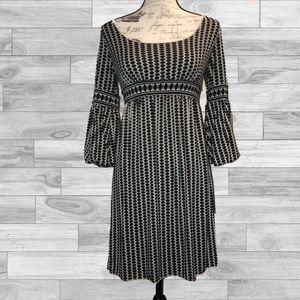name your price max studio aline geo pattern dress